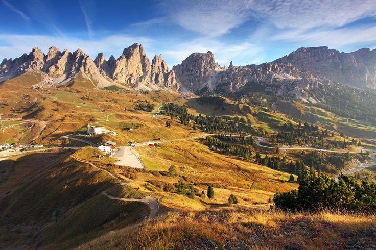 Dolomites - Road to Passo Gardena - Trentino Alto Adige