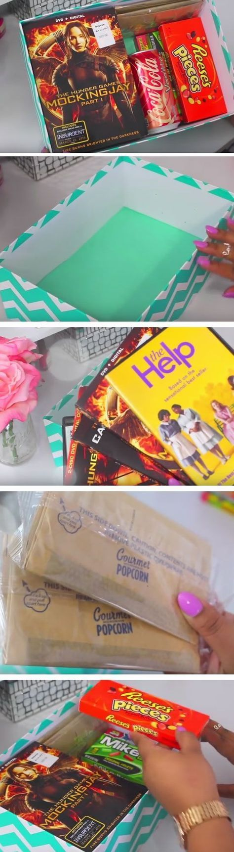 Theatre to Go | Click Pic for 21 DIY Christmas Baskets for Teens | Easy Gift Ideas for Teen Girls: #girlfriendbirthdaygifts