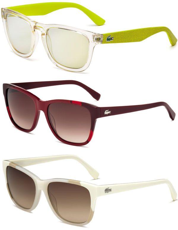 Brilhos da Moda: Óculos Lacoste Primavera Verão 2015