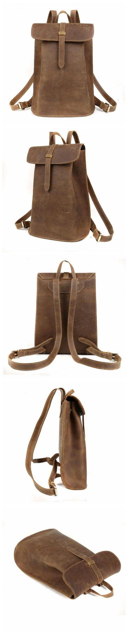 Women Backpack Vintage Leather Shoulder Backpack CF03