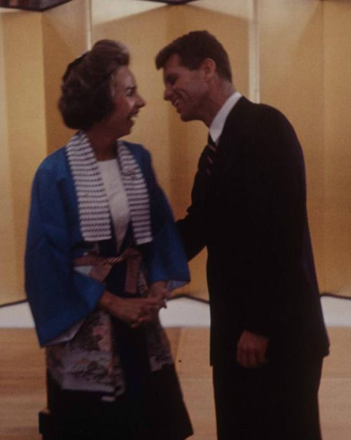 Ethel and   Bobby Kennedy