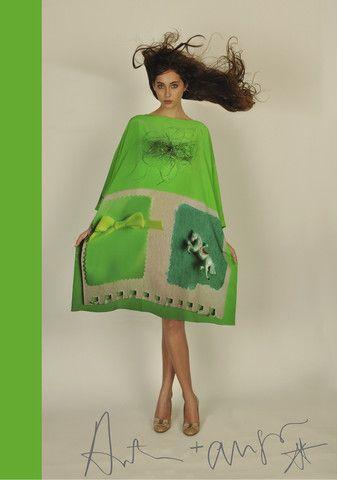 Antoni & Alison - Green Horse Dress