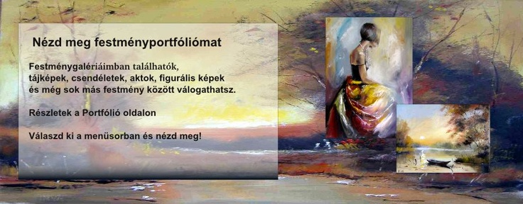 Festmény portfólió