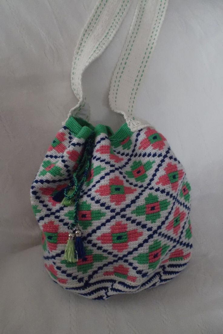 Bag mochila técnica wayuu