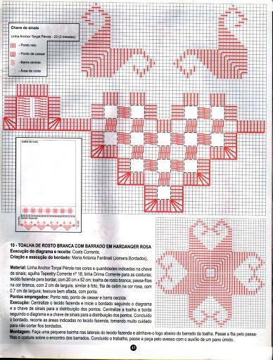 Ponto Reto & Hardanger Nº56 - nilza helena santiago santos - Picasa Web Albums