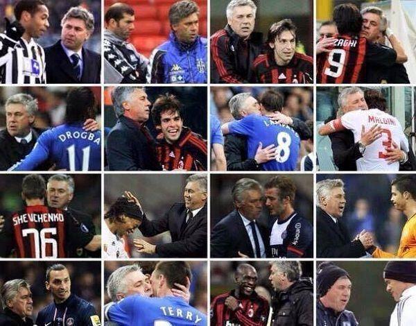 Niesamowity włoski trener potrafi żyć z najlepszymi piłkarzami na świecie • Carlo Ancelotti dobrze żyje z gwiazdami futbolu • Zobacz >> #ancelotti #football #soccer #sports #pilkanozna