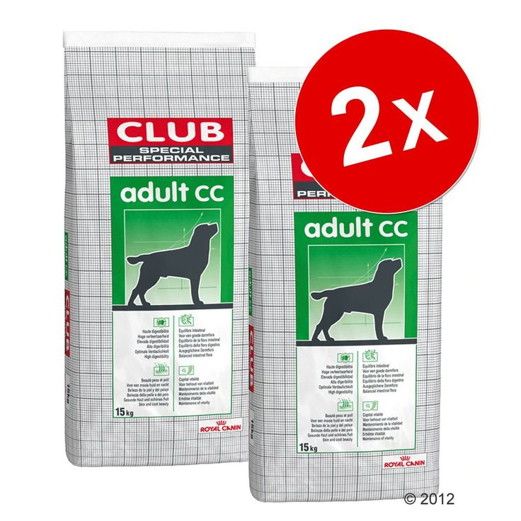 Animalerie  Lot Royal Canin Club/Selection pour chien  Adult Trad (2 x 15kg)