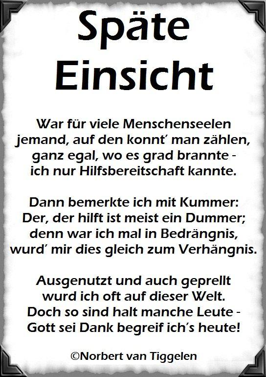Gedichte, mitten aus dem Leben, von Norbert van Tiggelen. |