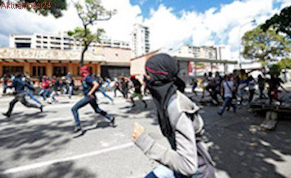 Wenezuela: Już 4 osoby zginęły od początku strajku generalnego