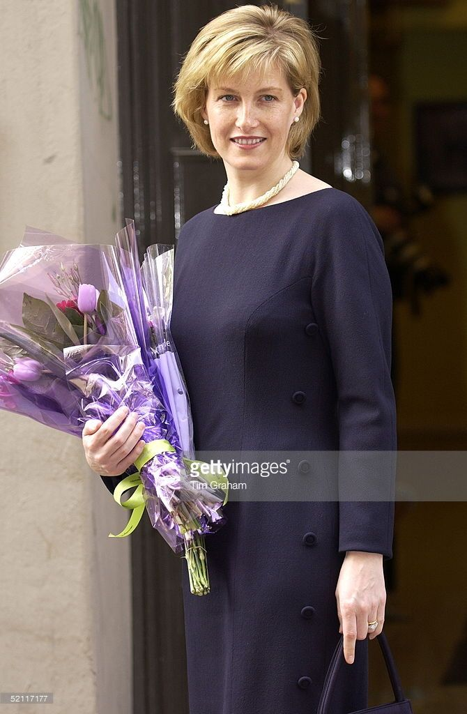 Sophie, Countess Of Wessex, Visiting The Central School Of Ballet Amidst Speculation In The British Press That She May Be Pregnant. The Countess Is To Tour The School And Meet Ballet Dancers There.