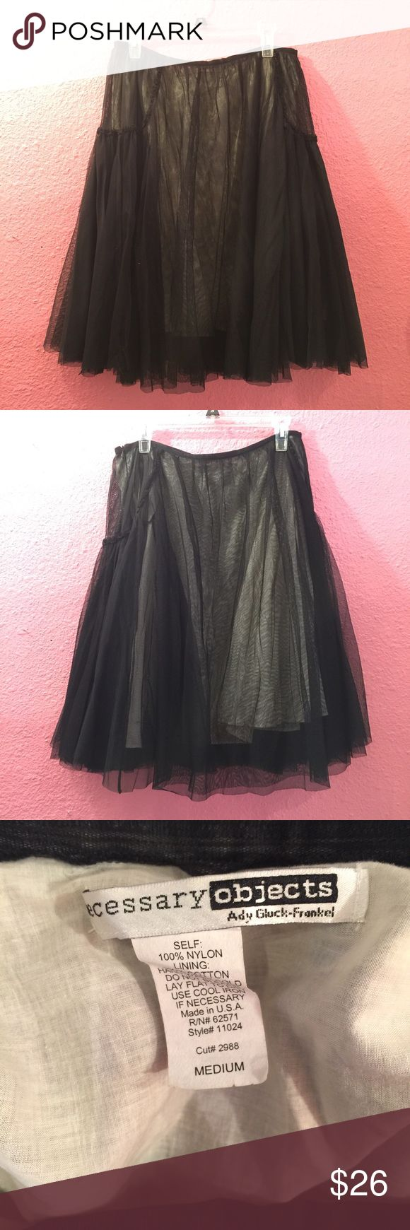 Fun Aline frilly skirt Fun Aline frilly skirt Necessary Objects Skirts A-Line or Full