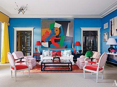 Houston, Texas, Living Room