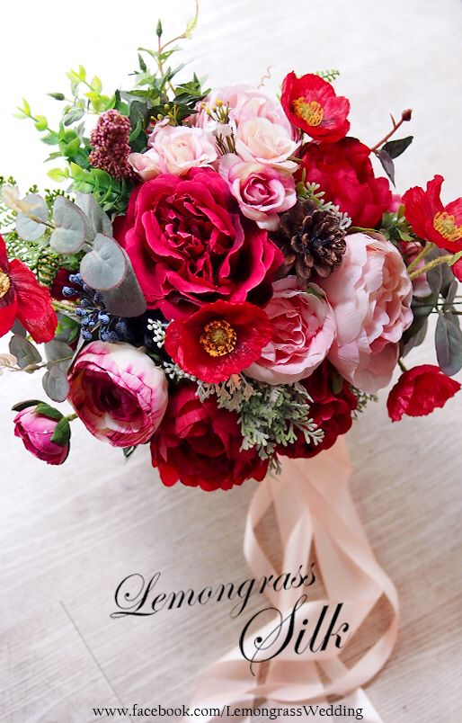 79 best silk flower bouquets images on pinterest silk flower find this pin and more on silk flower bouquets by lemongrassw mightylinksfo Choice Image