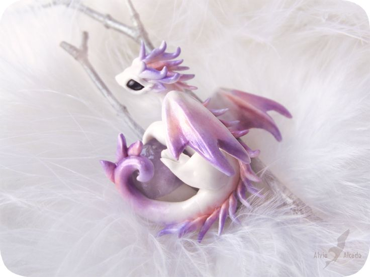Little dragon of Winter Dawn by AlviaAlcedo.deviantart.com on @deviantART