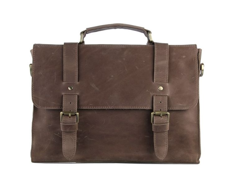 Crazy Horse Leather Briefcase iPAD via Vintage Leather Bags. Click on the image to see more!