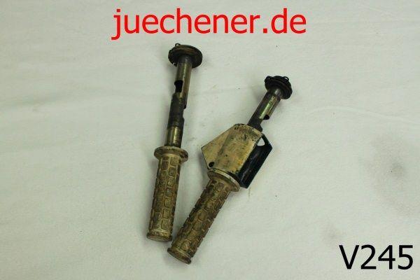 Vespa PX Lenkergriffe Gasgriff Schaltgriff Griff Lenkerstummel