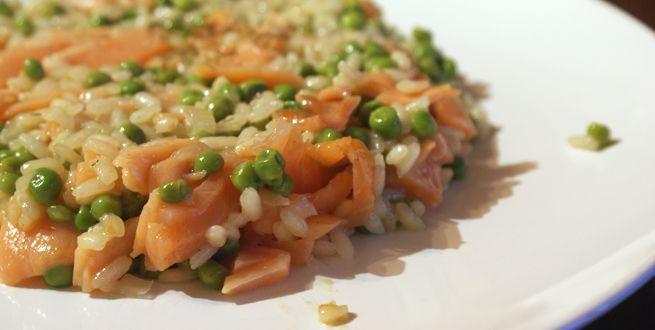 Foodblogswap september: risotto met zalm van Sabine