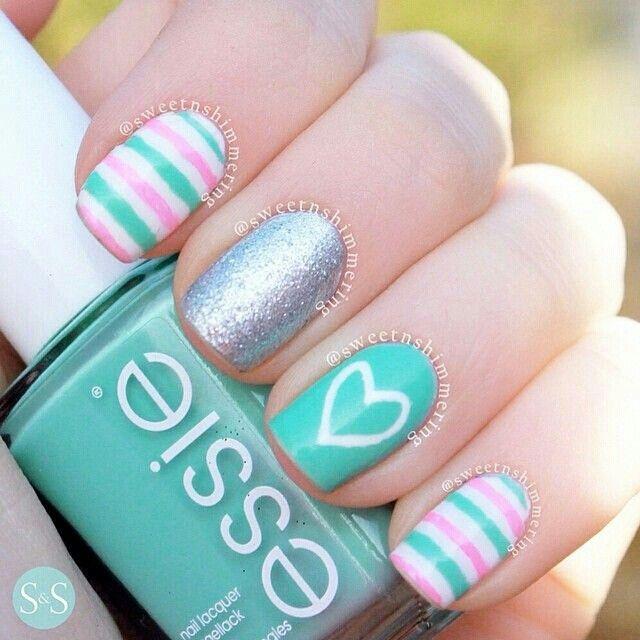 Cute Nail Design                                                                                                                                                      Más