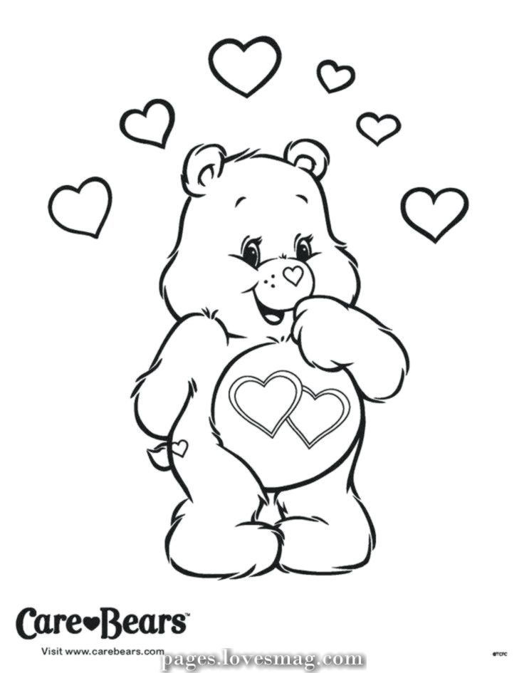 Bears Care Coloring Bear Pages Coloring Printable Bears Care