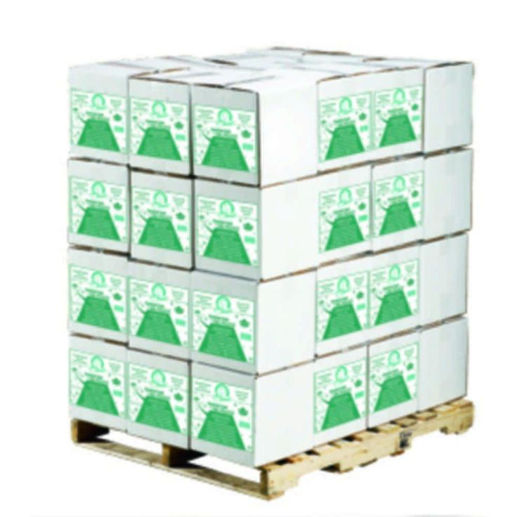 40 lb. Coated Granular Ice Melt with Calcium Chloride Pellets (Pallet of 48 Bags)