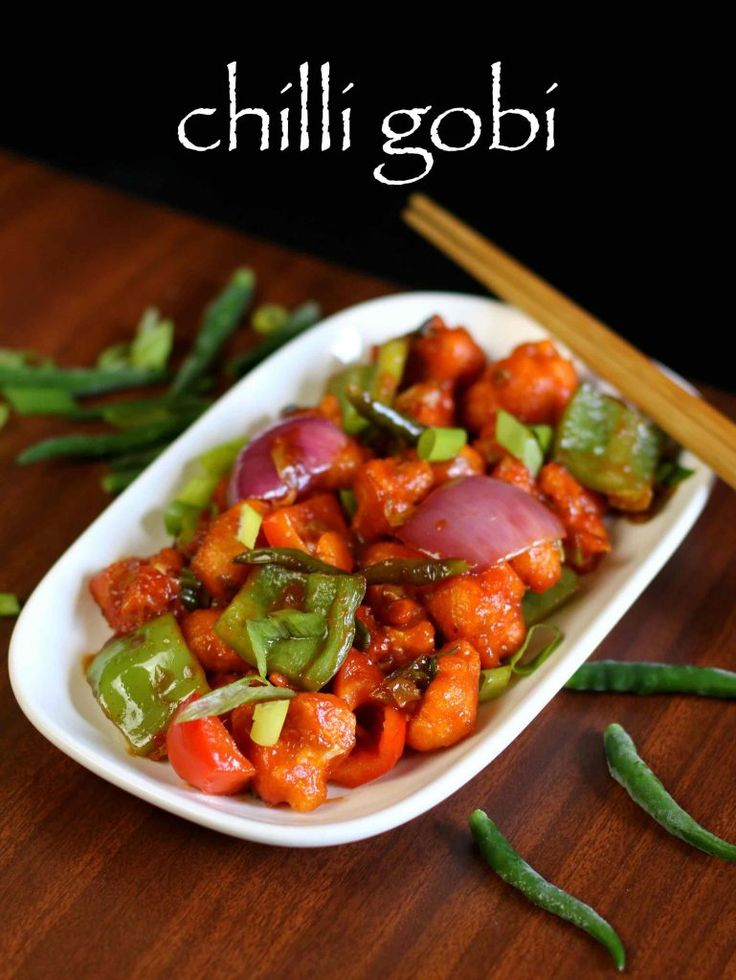 chilli gobi recipe, gobi chilli , chilly gobi with step by step photo/video. spicy starters/appetizer from indo chineese cuisine as indian street food.