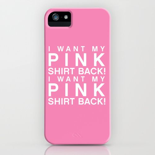 iphone 5 case for girls | ... Shirt Back - Mean Girls movie iPhone & iPod Case by AllieR | Society6