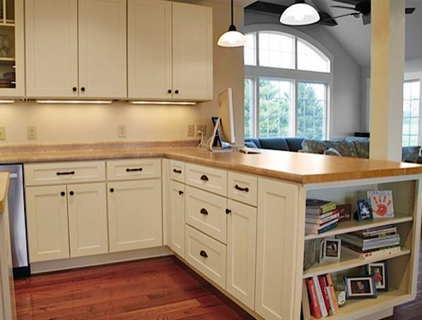 Cliqstudios Painted Linen Kitchen Cabinets In The Dayton Style Home Kitchen Pantry