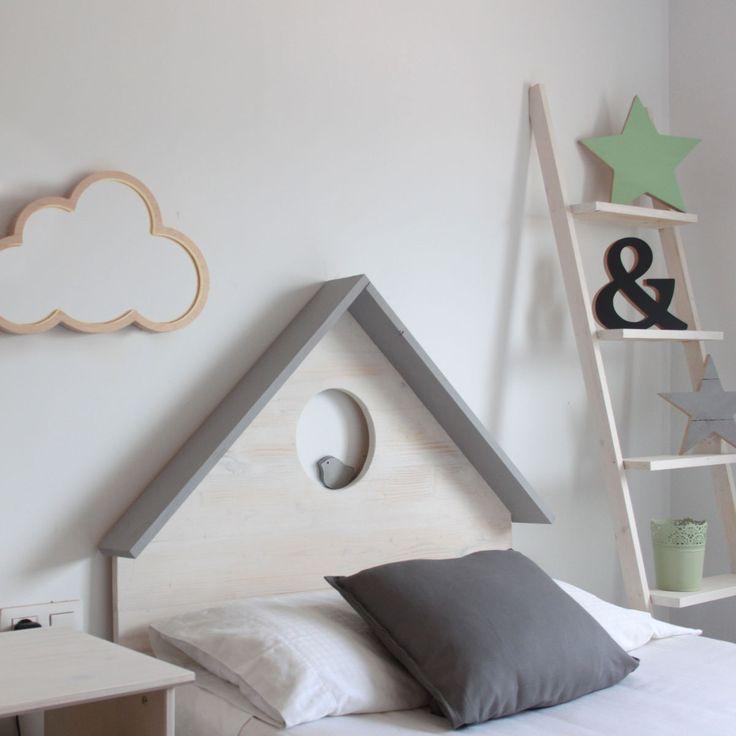 Les 183 meilleures images propos de lits rideaux sur pinterest traiteme - Tete de lit chene blanchi ...