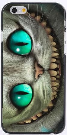 Cheshire Cat Hard Case for your iPhone. For iPhone 6, 6s - Durable - Hard Protective Case - Easy Access to All Ports - Available for iPhone 6 6s