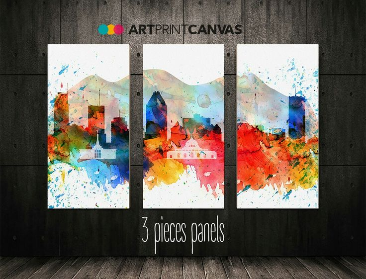 Excited to share the latest addition to my #etsy shop: Montreal print, Montreal watercolor, Canada cityscape skyline canvas 3 panel Art print Home decor Travel print Wall art ArtPrintCanvas #art #print #giclee #red #wedding #white #homedecor #artcanvasprint http://etsy.me/2Astzle