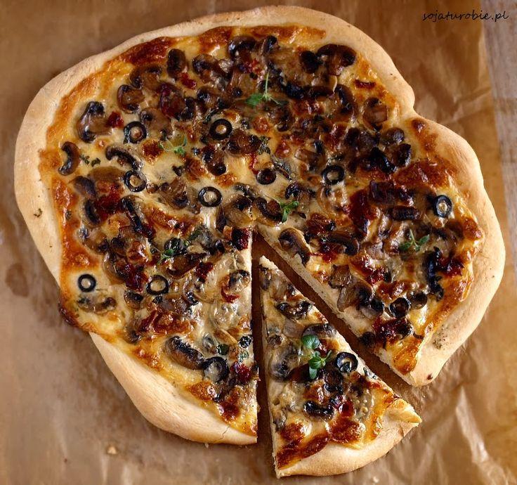 sojaturobie: Pizza wegańska
