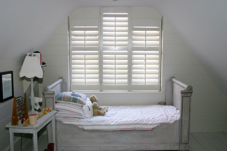 New England design Shutters.  Full height traditional plantation shutters. 89mm blades