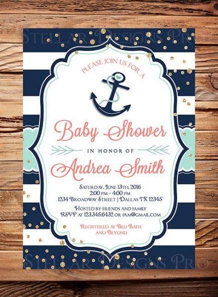Super baby shower boy brunch nautical theme 63+ Ideas # ...