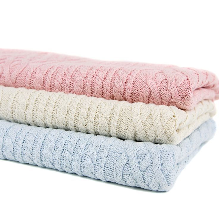 A classic and but also modern, this blanket can keep your baby comfortable all year long #baby #blanket