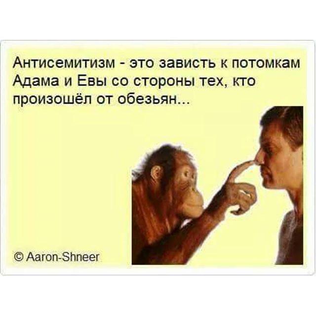 #антисемитизм #потомки #Адам #Ева #АдамиЕва #ненависть #обезьяна