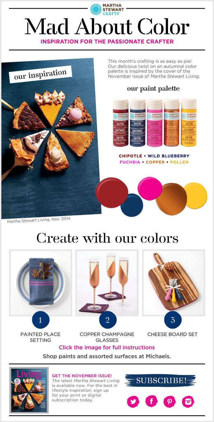 The Martha Stewart Mad about Color