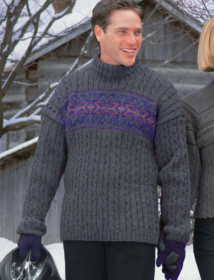 57 best knitting - men images on Pinterest   Knitting stitches, Free ...