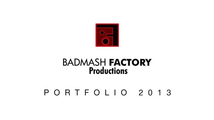 A creative video and photo studio, Toronto, for small businesses, artists and individuals - www.badmashfactory.com