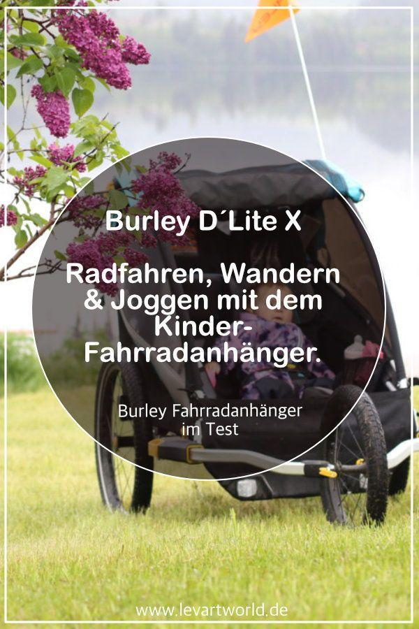 Fahrradanhanger Burley D Lite X Kinderwagen Jogger Wandern