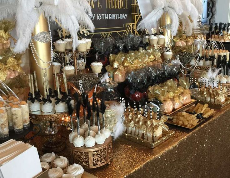 """Great Gatsby  / Birthday """"Tamia and Terrence's Great Gatsby 16th Birthday """" 