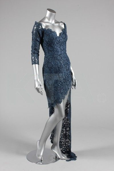 Cocktail dress by Antony Price, spring-summer 1990 UK