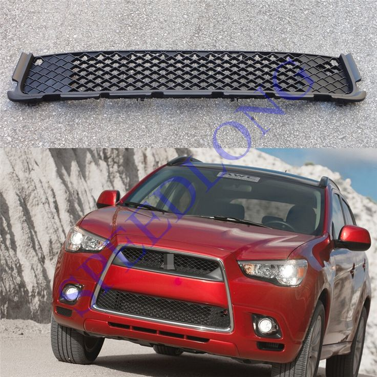 1pc Mesh front Lower grill grille insert for Mitsubishi