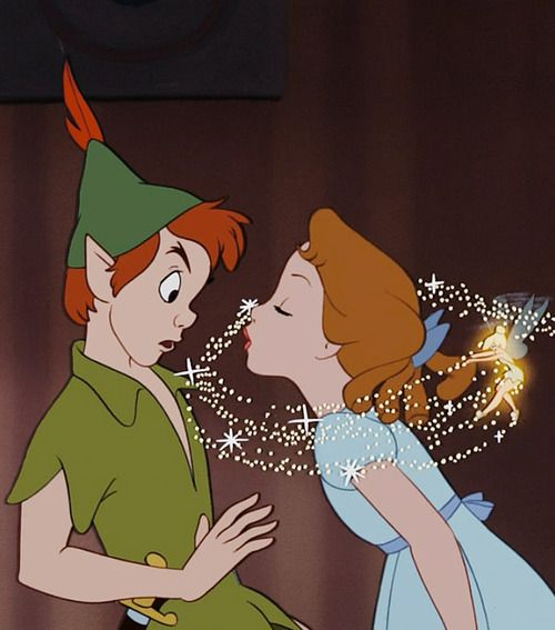 Peter Pan <3 Saturday morning movie times eating captin crunch with James when I was growing up...(: