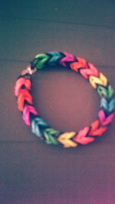 Another rainbow loom bracelet