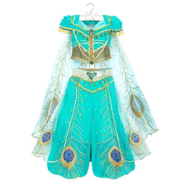 Jasmine From Aladdin 2019 Complete Cosplay Costume Jasmine Costume Jasmine Costume Kids Princess Jasmine Costume Kids