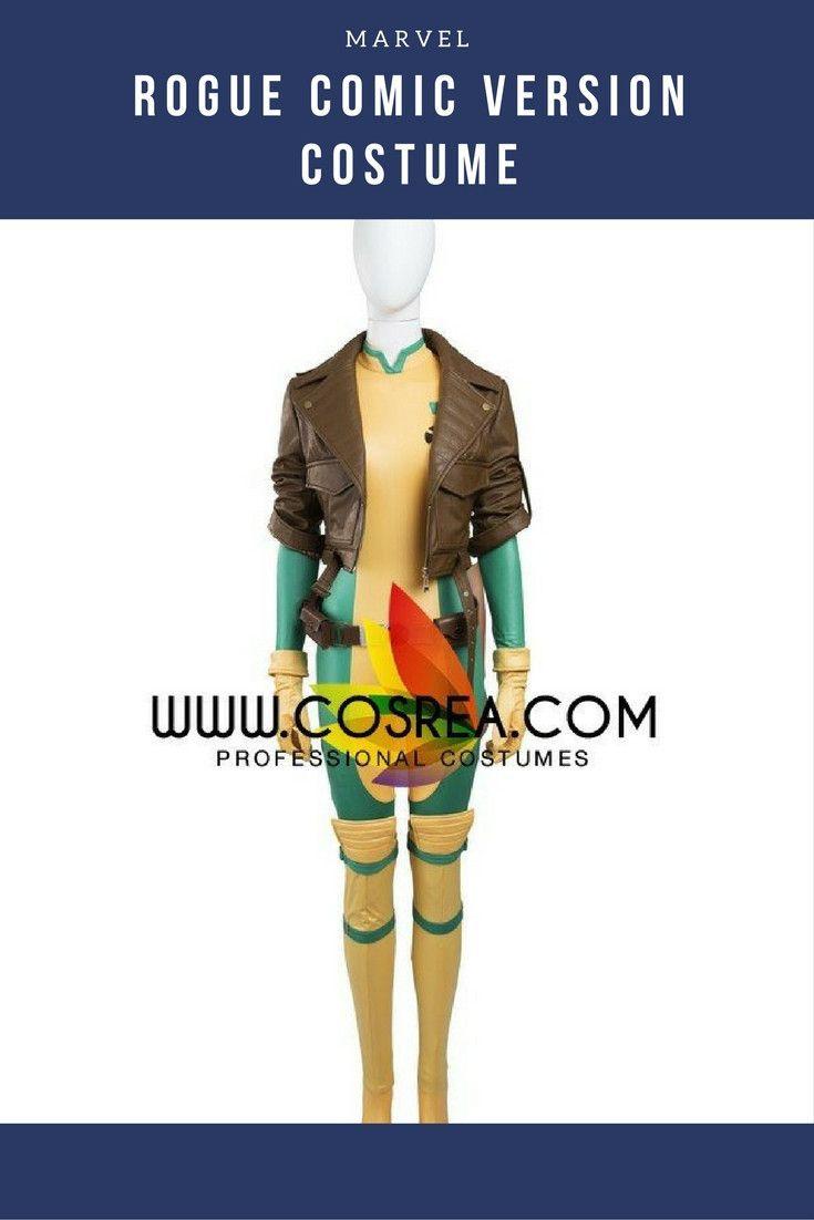 Rogue Comic Version Cosplay Costume