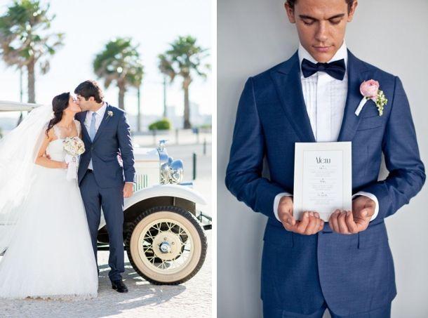 Best 25  Navy suit groom ideas on Pinterest   Navy blue suit, Blue ...