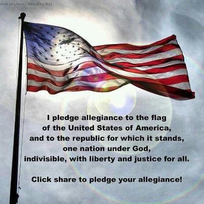 53 best images about PLEDGE OF ALLEGIANCE on Pinterest   Patriots ...