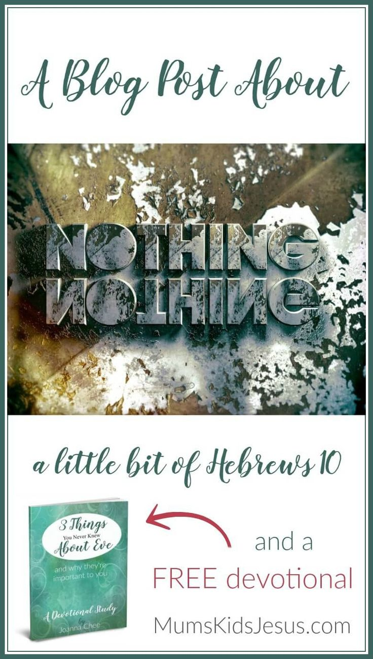 Nothing. No thing. Can separate us from God's presence or his love. Click the pin to read, and get your free devotional. via @ Joanna Mums.Kids.Jesus