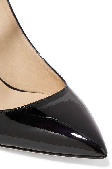 Jimmy Choo - Sage Patent-leather Pumps - Black - IT36.5